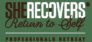 She Recovers Return to Self Logo