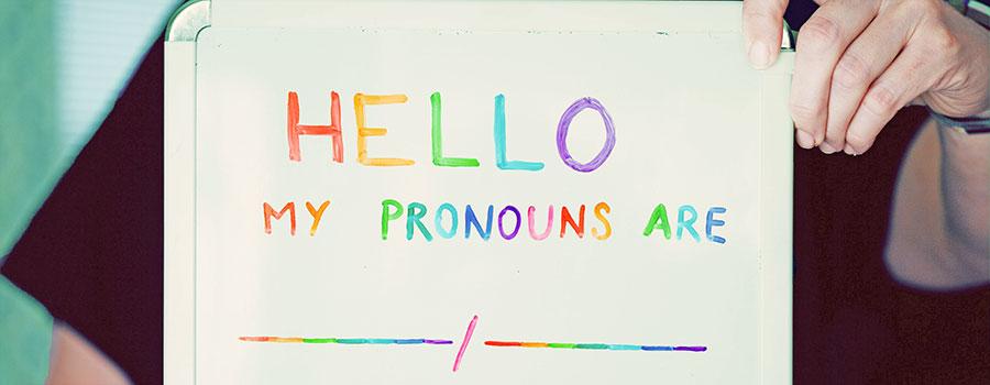 Honoring Trans Women & Non-Binary Individuals on International Pronouns Day