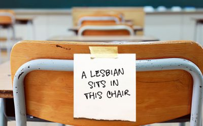 A Lesbian in Recovery Sits in this Chair